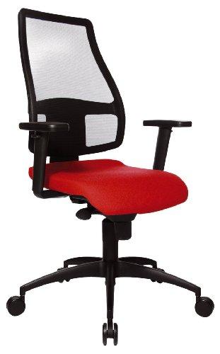 Topstar Synchro Net Chaise de Bureau Rouge
