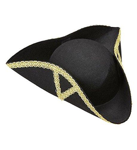 Piratenhut Pirat Dreispitz Hut Hüte Kostümzubehör