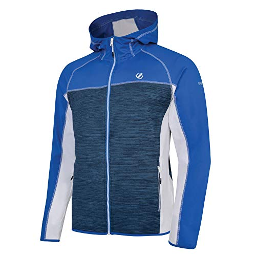 Dare 2B Ratified Core Stretch Lightweight Quick Drying Full Zip Top, Strato Intermedio Uomo, Oxford Blue/Admiral Blue, S