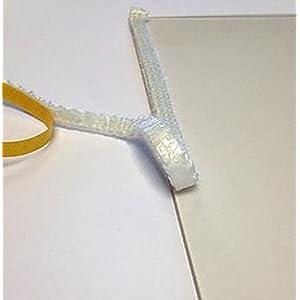 Cinta adhesiva plana de repuesto para estufa de 8 mm x 1 m (se vende por metro lineal)