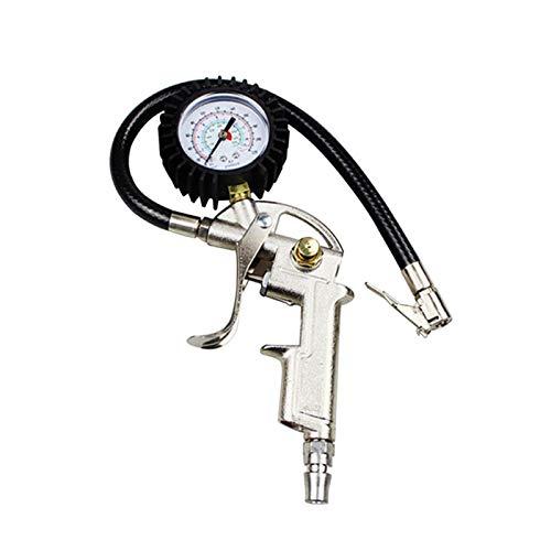 Tpms Medidor de presión de neumáticos AUTOMÁTICOS PARA MOTOR DE COCHE SUV Bombas de inflador Herramientas de reparación de neumáticos Tipo de pistola de presión para compresor de aire duradero medidor