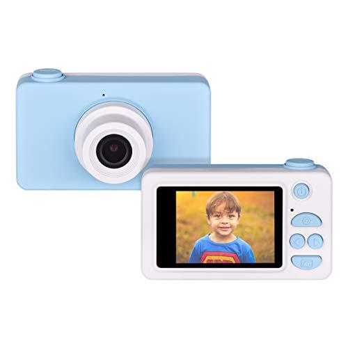 Funkprofi Cámara digital para niños Kidizoom Kids Camera cámara fotográfica Full HD 1080P 8 megapíxeles 2 pulgadas HD pantalla azul