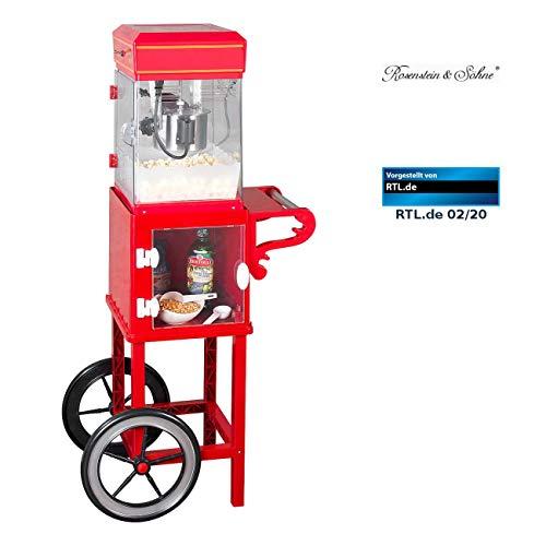 Rosenstein & Söhne Popcorn-Maschine Cinema: Retro-Popcorn-Maschine