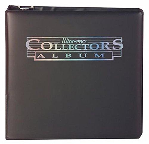 Ultra Pro 3-Ring Collectors Album Schwarz+ 100 9-Pocket Platinum Pages Ordnerseiten Black - Magic: The Gathering - Yu-Gi-Oh!