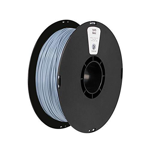 Filamento PLA 1,75 mm, filamento para impresora 3D 1 kg (2,2 lb)-Azul grisáceo