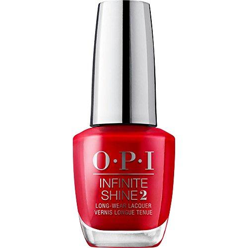 OPI Infinite Shine - Esmalte de Uñas Semipermanente a Nivel de una Manicura Profesional, Big Apple Red Color Rojo - 15 ml