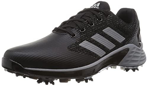 ADIDAS ZG21 Motion, Zapatos de Golf Hombre, Negro/Gris, 42 2/3 EU