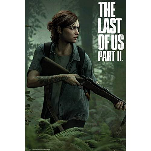 1art1 The Last of US - 2, Ellie Poster Stampa (91 x 61cm)
