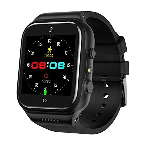 FENGJJ Smart Watch all Netcom può Essere Inserito per Telefono Orologio, monitoraggio della Temperatura corporeo Download WiFi, Orologi da Donna Smart Phone,32G