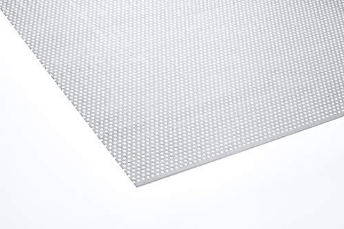 Lochblech Alu RV3-5 Aluminium 1.5mm Zuschnitt individuell auf Maß NEU günstig (1000 mm x 450 mm)