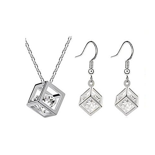 GYJUN Bijoux-Colliers décoratifs / Boucles d'oreille(Zircon / Plaqué argent)Soirée / Quotidien Cadeaux de mariage , one size