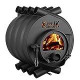 Warmluftofen Kanuk® Original 10 kW - Werkstattofen - Schwedenofen - Energieeffizienzklasse A+ - Top Qualität - Zulassung für Deutschland, Österreich und Schweiz - BimSchV