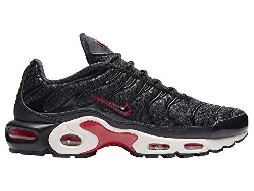 Nike Womens Air Max Plus PRM Running Trainers BV6116 Sneakers Shoes (UK 3.5 US 6 EU 36.5, Black University red 001)