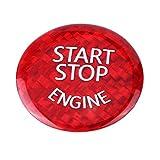 Cubierta del botón del interruptor de parada del motor del coche para B M W E chasis E90 E91 E92 E93 E60 X1 E84 X3 E83 X5 E70 X6 E71 X6 E72