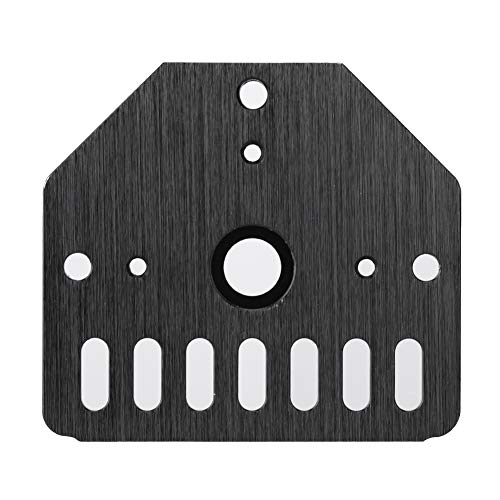 Wendry 3D Printer Mount Plate, Stepper Motor Mount Plate, Anodized Aluminum Mounting Board for Openbuilds 3D Printer Parts Accessories