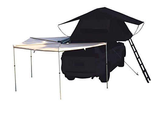 Canvas 270 Awning Rooftop Tent Sun Shelter Designed for Vehicle