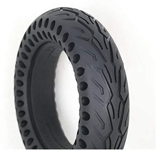 Neumáticos Scooter eléctrico de 10 pulgadas, 10x2.5 Neumáticos a prueba de explosiones sólidos, la absorción de choque de nido de abeja hueco, alta elasticidad y neumáticos resistentes a los pinchazos