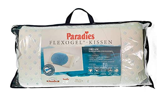 PARADIES Flexogel Dream Nackenstützkissen 40x80 cm mit Gel Einlage und Höhenverstellung neu
