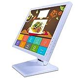 Wangkangyi Écran Tactile 17' Moniteur POS Caisse Enregistreuse POS Système de Caisse Enregistreuse 1280 x 1024 VGA USB LCD