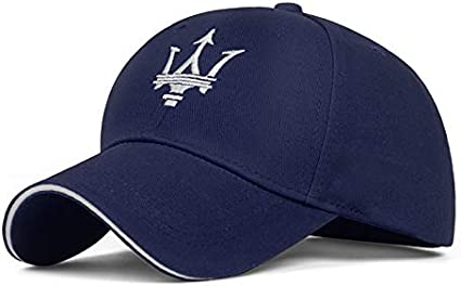 MASERATI Cap M/ütze blau Contemporary Logo verstellbar