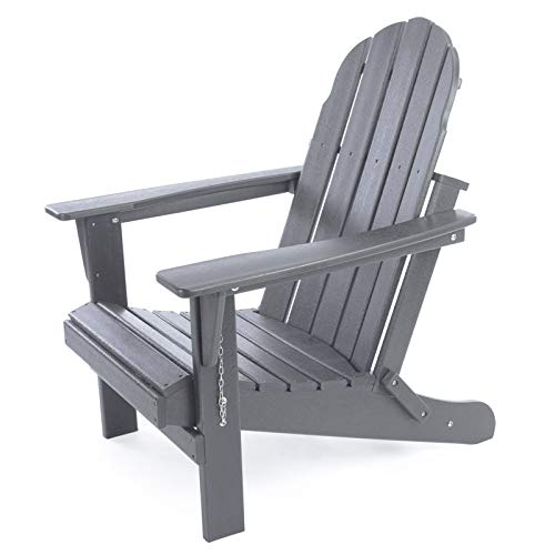 Gettati HDPE Plastic/Resin Outdoor Adirondack Chair