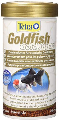 Tetra Goldfish Gold Japan Food Delights Mangime Rossi Goldjapan Ml. 250-Alimenti Pesci, Multicolore, Unica, 250 unità