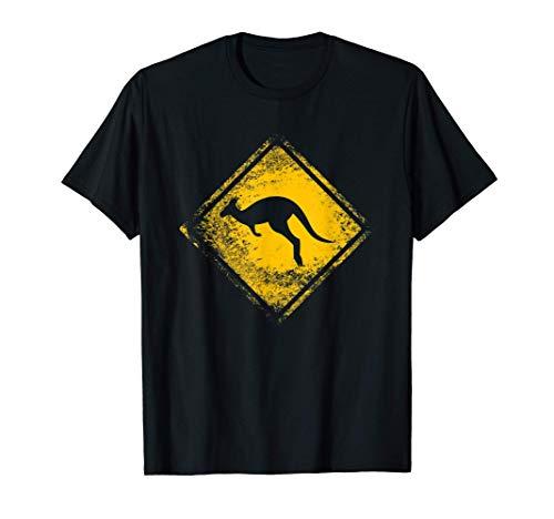 Geschenkidee: Känguru Warnschild - Urban für Australien fans T-Shirt