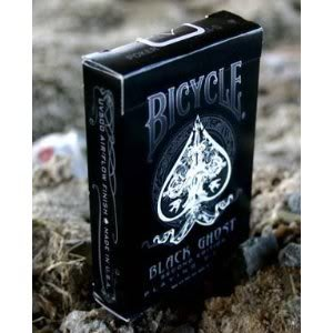 Bicycle Black Ghost Deck (2nd Edition) - Spielkarten von Ellusionist