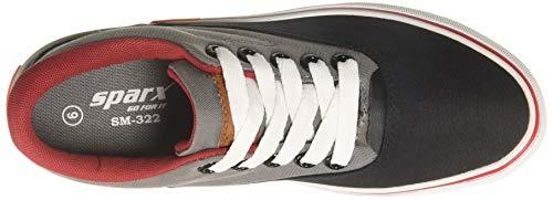 Product Image 6: Sparx Men's Black Grey Sneakers