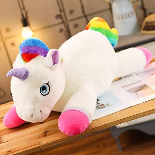 CZYCWJ 1 Pc Unicorns Pluchen Speelgoed Giant Eenhoorn Speelgoed Knuffels Doll Pluizig Haar Fly Paard Xmas Speelgoed Voor Kind
