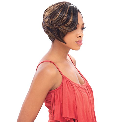 Sensationnel Goddess Bump 100% Remi Human Hair Weave FEATHER WRAP 8 Inch - 1B