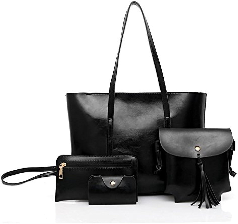KVNHTY&NC Damen Handtasche Schultertasche Ms. New Bag, Dunkelgrau B07D477X92 B07D477X92 B07D477X92  Elegantes Aussehen 818902