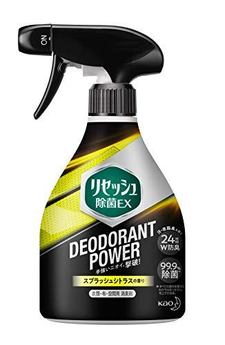 リセッシュ 除菌EX 消臭芳香剤 液体 デオドラントパワー スプラッシュシトラス本体 360ml