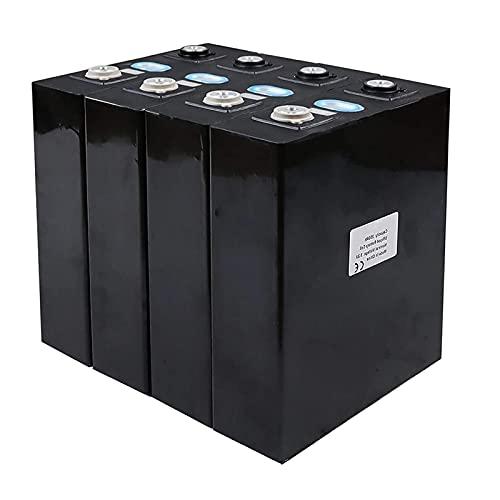 LONGRING 4/8 UNIDS Nuevo 3.2V 200AH Batería Lifepo4 + Pieza de Conexión Celdas de Fosfato de Hierro de Litio Paquete de Carga Solar 12V / 24V para Barco RV Carro de Golf Sistema UPS,8pcs