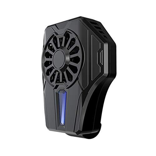 Wiivilik Handy-Kühler bewegliche Spiel Smarphone Cooler Wireless Phone Ventilator, schnurloses Telefon Lüfter 65-85mm justierbarer Handgriff