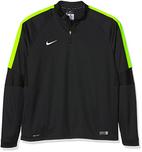 Nike Kinder Sweatshirt Ignite Squad 15, Black/Volt/White, M