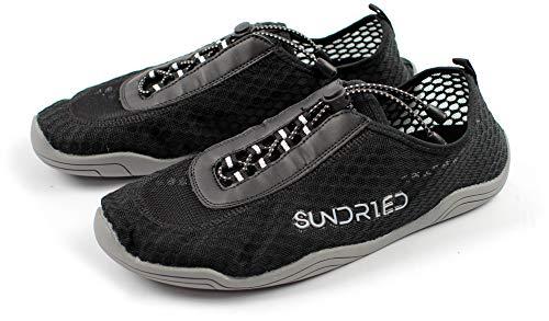 Zapatos Barefoot Gimnasio del Sundried Mujeres para el Funcionamiento de Saltarse Yoga Entrenadores atléticos Super Ligero (Euro 41, Gris)