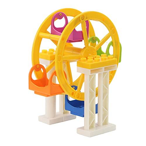 Amagogo Rueda de la Fortuna Bloques de construcción Juguetes de construcción Juguete Educativo de Aprendizaje temprano