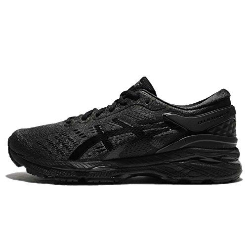 Asics Gel-Kayano 24, Zapatillas de Running Hombre, Negro (Black/Black/Carbon 9090), 43.5 EU