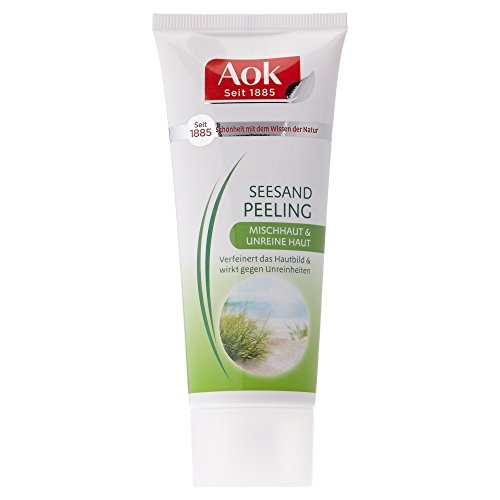 Aok Seesand Peeling für Mischhaut & unreine Haut, 100 ml