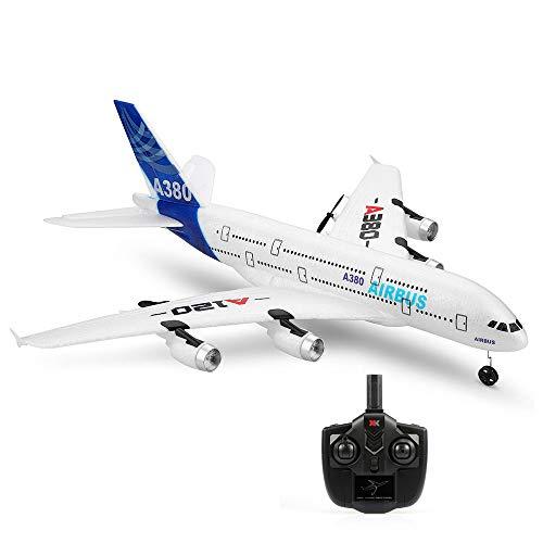 Leeofty A120 Airbus A380 Modell Flugzeug 3CH EPP 2.4G Fernbedienung Flugzeug Starrflügel RTF Spielzeug