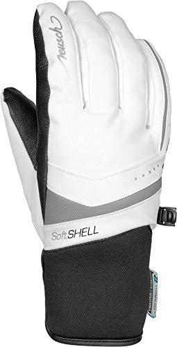 Reusch Damen Tomke STORMBLOXX Handschuh, White/Silver, 6.5