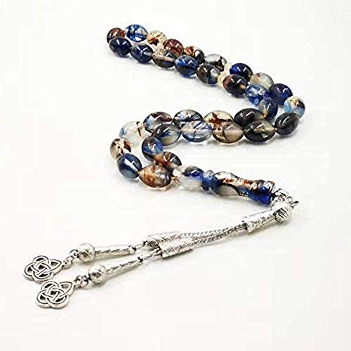 huangxuanchen co.,ltd Necklace Luminous Special Muslim Rosary Everything is Eid Ramadan Gift Islamic 33 Prayer Beads Bracelet