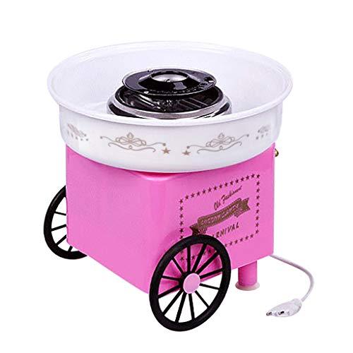Cigou Vintage Cotton Candy Machine Fashion Mini Cotton Candy Machine Perfect for Family Party Creative Gift (A)