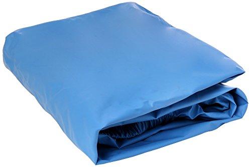 Medicare System FPU5020 SAN Medicover Fundas Aanpasbare beschermhoes voor matras, 190 cm x 90 cm x 20 cm, lichtblauw