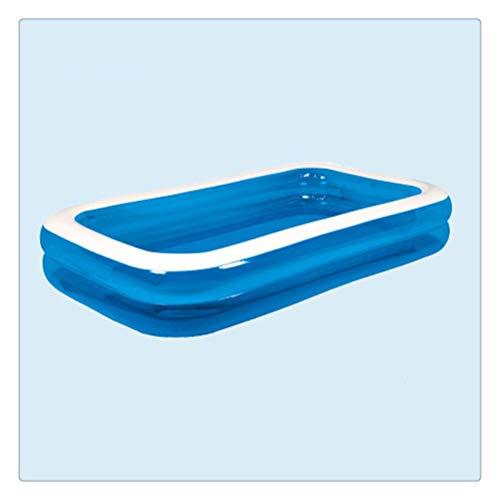 DFSDG Fleado Resistente al Desgaste para Adultos Piscina para Adultos Juguetes para bebé Home Pool Piscina Marine Ball Piscina para niños Deportes al Aire Libre Juguetes (Size : 305 * 183 * 50cm)