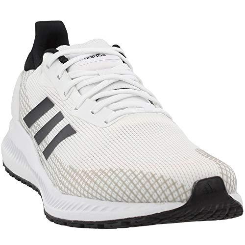 adidas Men's Solar Blaze Running Shoes Cloud White/Cloud White/Core Black 10