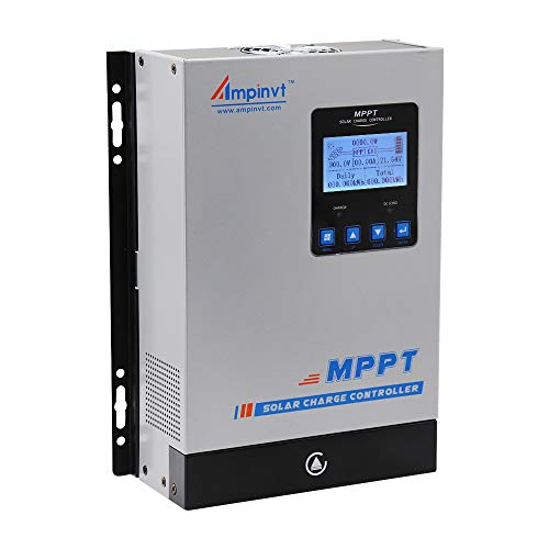 80A MPPT Solar regulador 12V 24V 36V 48V Automatically