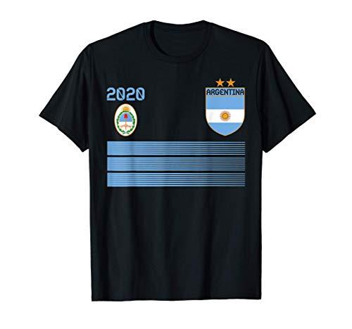 Maglia da calcio Argentina 2020 Argentina Soccer Maglietta