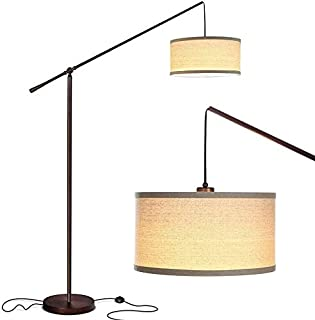 Table Lamp Floor Lamp Contemporary Arc Floor Lamp Stands Up Over The Couch from Behind - Hanging Pendant Light - Mid Centu...